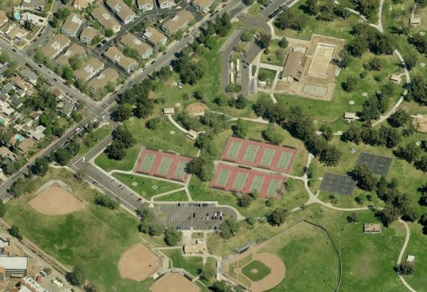 Satellite image of El Cariso Park